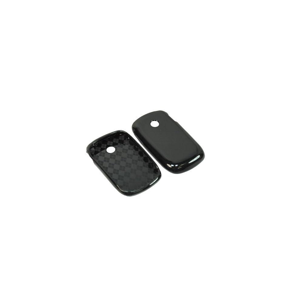BW TPU Sleeve Gel Cover Skin Case for Tracfone, Net 10, Straight Talk LG 800G  Black