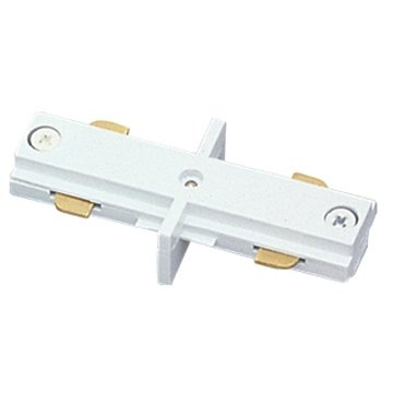 Jesco Lighting HIJWH Accessory - Mini I-Connector, Track Options: H - 3-Wire Single Circuit Trac, Choose Finish: WH: White - Single Circuit Track Connector