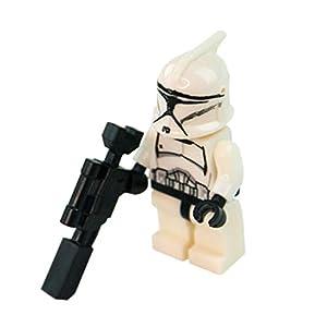 21pcs clone troopers white combat team