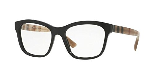 Burberry Women's BE2227 Eyeglasses Black - Burberry Women Glasses