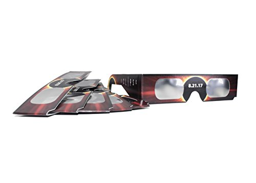 Solar Eclipse Glasses - Made in the USA - NASA Recommended ISO and CE Certified Glasses for Eclipse Viewing (6 - Looking Sunglasses Eclipse With A At Solar