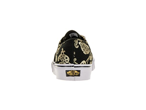 Duke Foil Vans Black Authentic Gold qXaWwWZU4