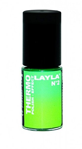 THERMO-NAGELLACK - LAYLA THERMO POLISH EFFECT - DARK TO LIGHT GREEN