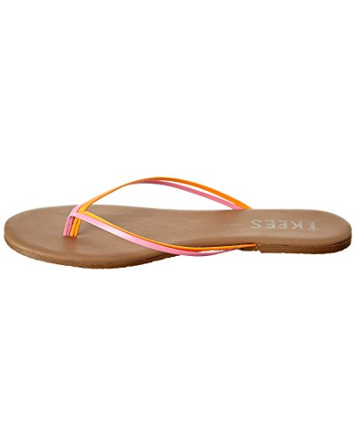 Tkees Duos Flip Flop, 10, Marrone
