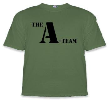 A Team Apparel T shirt Green product image