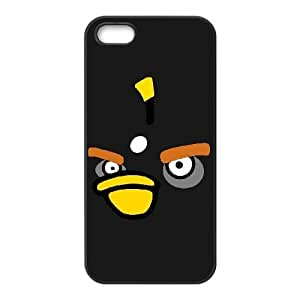 iphone5 5s phone cases Black Angry Birds cell phone cases Beautiful gifts PYSY9392785