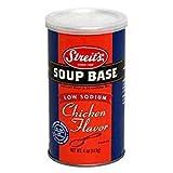 Streit's Soup Base Low Sodium Chicken Flavor 4 Oz. Pack Of 3.