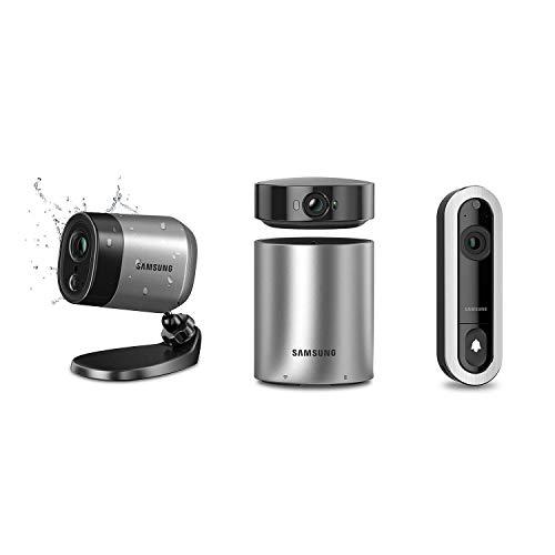 Samsung A1D1 SmartCam A1 Home Security System & D1 Video Doorbell Camera