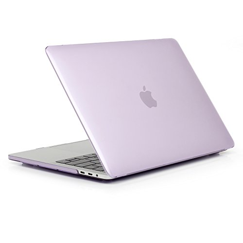 Price comparison product image Jennyfly MacBook Pro 13.3 inch Cover,  Anti-Scratch MacBook Protective Case Smooth Plastic Hard Case Ultra-Slim Protective Cover Compatible MacBook Pro 13.3 inch Model A1278 - Purple
