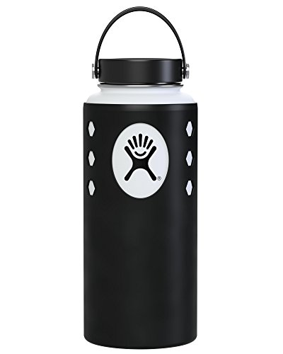 Hydro Protector Silicone Guard Protective Sleeve Cover Case for Hydro Flask Water Bottles (Multiple Sizes & Colors)