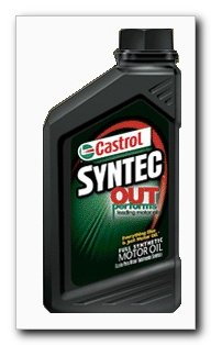 Castrol SYNTEC Motor Oil 5W50, Quart (06072)