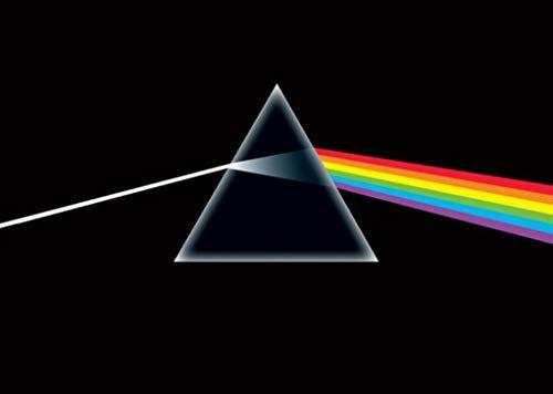 Buyartforless Pink Floyd - Dark Side of The Moon, Prism 36x24 Music Album Art Print Poster Classic
