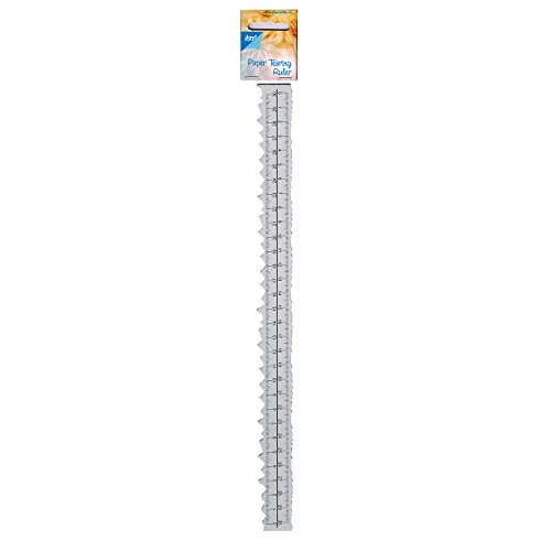 - Joy! Crafts Paper Tearing Ruler Photo Border-30 cm, Metal, Silver, 30 x 30 x 20 cm