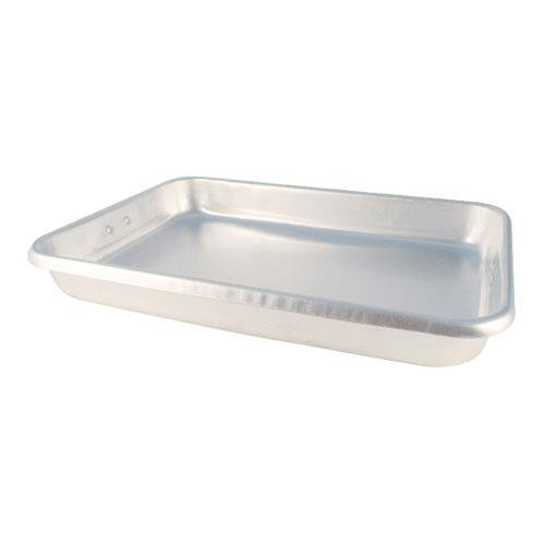 Johnson-Rose 8 Inch X 26 Inch X 3-1/2 Inch Aluminum Roast Pan with Wire Handles