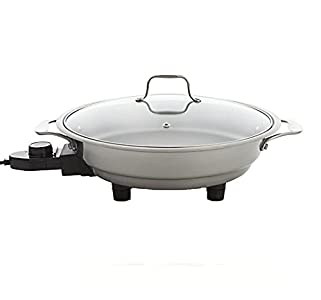 CucinaPro Electric Skillet By Cucina Pro – 18/10 Stainless Steel – Better than expected!