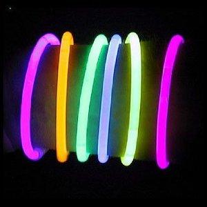 "100 10"" Premium Lumistick Glow Stick Bracelets Assorted"