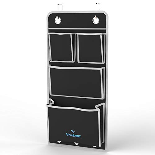 Premium Over The Door Organizer | Hanging Wall File Organizer | Pocket Locker Office or Garage Storage | Cubicle File Holder