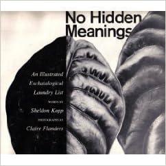 Book No Hidden Meanings: An Illustrated Eschatological Laundry List by Sheldon B. Kopp (1976-10-03)