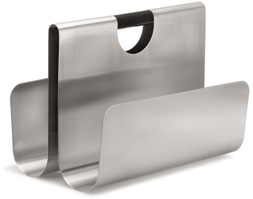 Blomus Magazine Rack (Blomus Wactor Stainless Steel Magazine Holder)