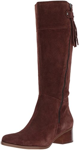 Naturalizer Women's Demi Riding Boot, Chocolate, 10 W US