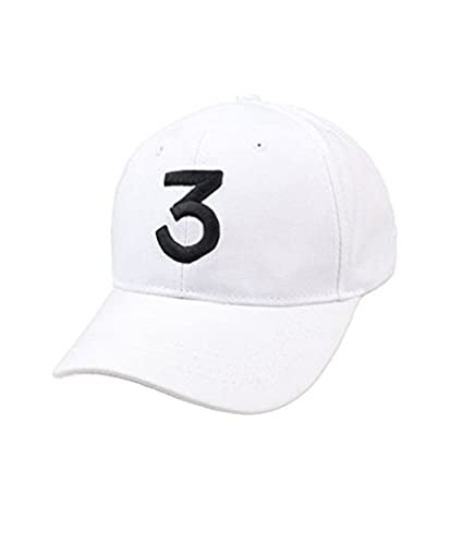 e2688d0d889 IVYRISE Fashion Embroider Baseball Chance Caps Hats Cool Baseball Rapper  Caps with Number 3