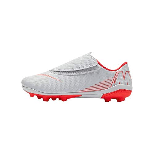 (Nike Jr Vapor 12 Club Ps (v) Fg/mg Little Kids Ah7351-060 Size 12)