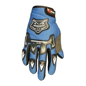 Street Bike Motorcycle Gloves (ATV Motocross Dirt Bike Motorcycle Powersports Street Bike Racing Gloves 02 (S, Blue))