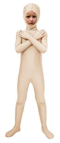 Full Body Spandex Halloween Costume (Sheface Spandex Face Out Second Skin Zentai Full Body Costume (Medium, Skin))