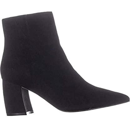 Marc Fisher Retire Ankle Boots, Medium Red Suede 2