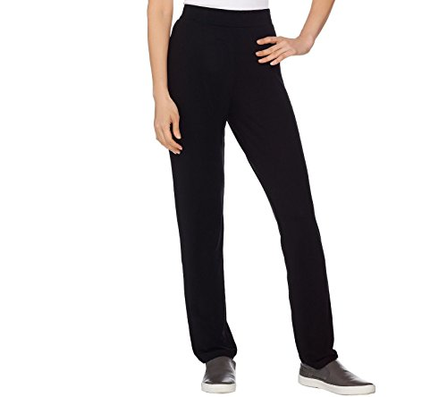 Lisa Rinna Collection Pull On Straight Leg Knit Pants A285562