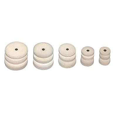 """1//8/""""x7//8/"""" .Package  of 50 . Keystone Mizzy Heatless Grinding Wheels #5 Regular"""