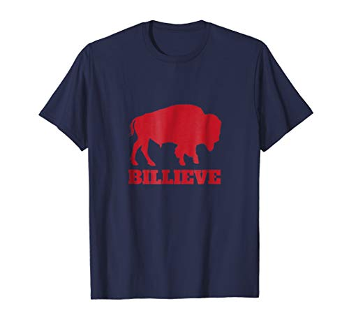 Buffalo Womens T-shirt - Billieve Bills Mafia T-Shirt, Buffalo Gift Shirt for Fans