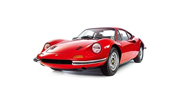 Italian Sports Car 246GTS 1969-74  Fine Art Print A4 size FERRARI DINO 246GT