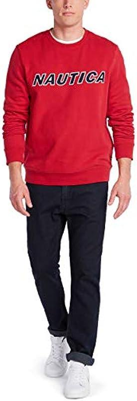 Nautica Męskie Sweatshirt: Odzież