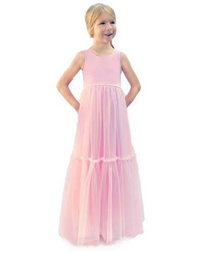 Jennifer and June Pink Boho Princess Dress. 4T/5T