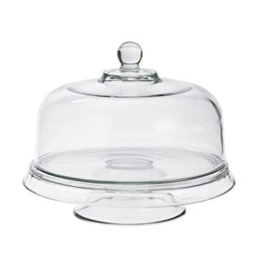 Anchor Hocking Presence 4-in-1 Glass Cake Set