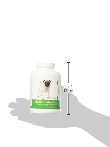 Pictures of Healthy Breeds Dog One A Day Supplement Pug, Brown 2