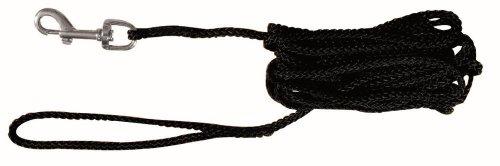 TRIXIE 19771 Schleppleine, Nylon, 15 m/ 5 mm, schwarz