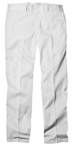 Dickies Men's Original 874 Work Pant, White 34W x -