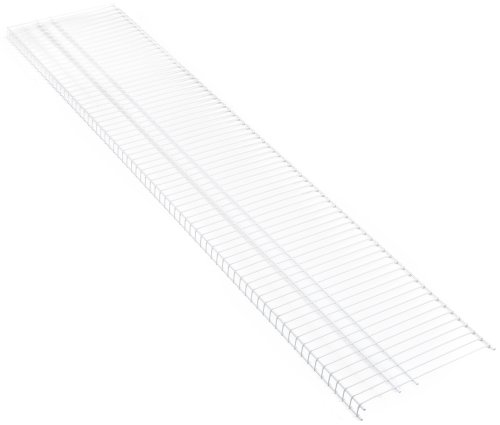 "Closetmaid 4735 Superslide Shelf, 6' X 16"", White (Pack O..."