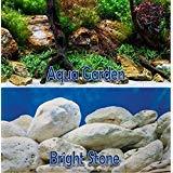 "Product review for Aqua Garden / Bright Stone 18"" Aquarium Terrarium Double-sided Background (18"" x 48"")"