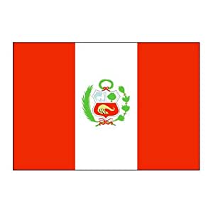 Peru Flag 5ft x 8ft Nylon