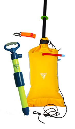 (Seattle Sports Basic Safety Kit for Kayaks and Small Boats - Includes Bilge Pump, Paddle Float, and Safety Whistle)