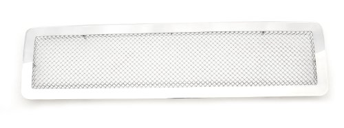 (T-Rex 54290 Upper Class Mesh Polished Stainless Steel Grille with Full Center Opening)