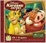Disney's Karaoke Series: The Lion King by Disney Karaoke Series Karaoke edition (2003) Audio CD