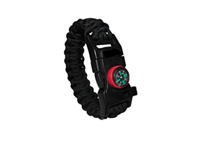 SURVIVAL BRACELET - Survival Paracord, Hiking Multi Tool, Para-cord Bracelet, Emergency Whistle, Compass for Hiking, Camp Fire Starter by Get it Right
