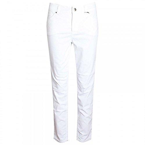 Oui Women's Straight Leg Jeans White