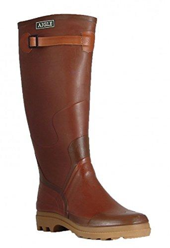 Aigle - Botas de Caucho Hombre Marron (Ambre)