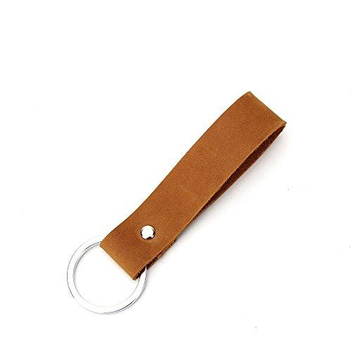 Wardeindesign Men's Leather Wallet Bifold RFID Designer engraved - and leather key fob by Wardeindesign (Image #8)