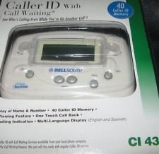 BellSouth Digital Answering Machine Caller ID with Call Waiting-2025